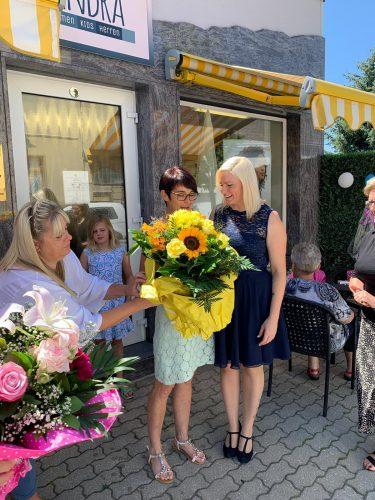Eröffnung Haarstudio Sandra
